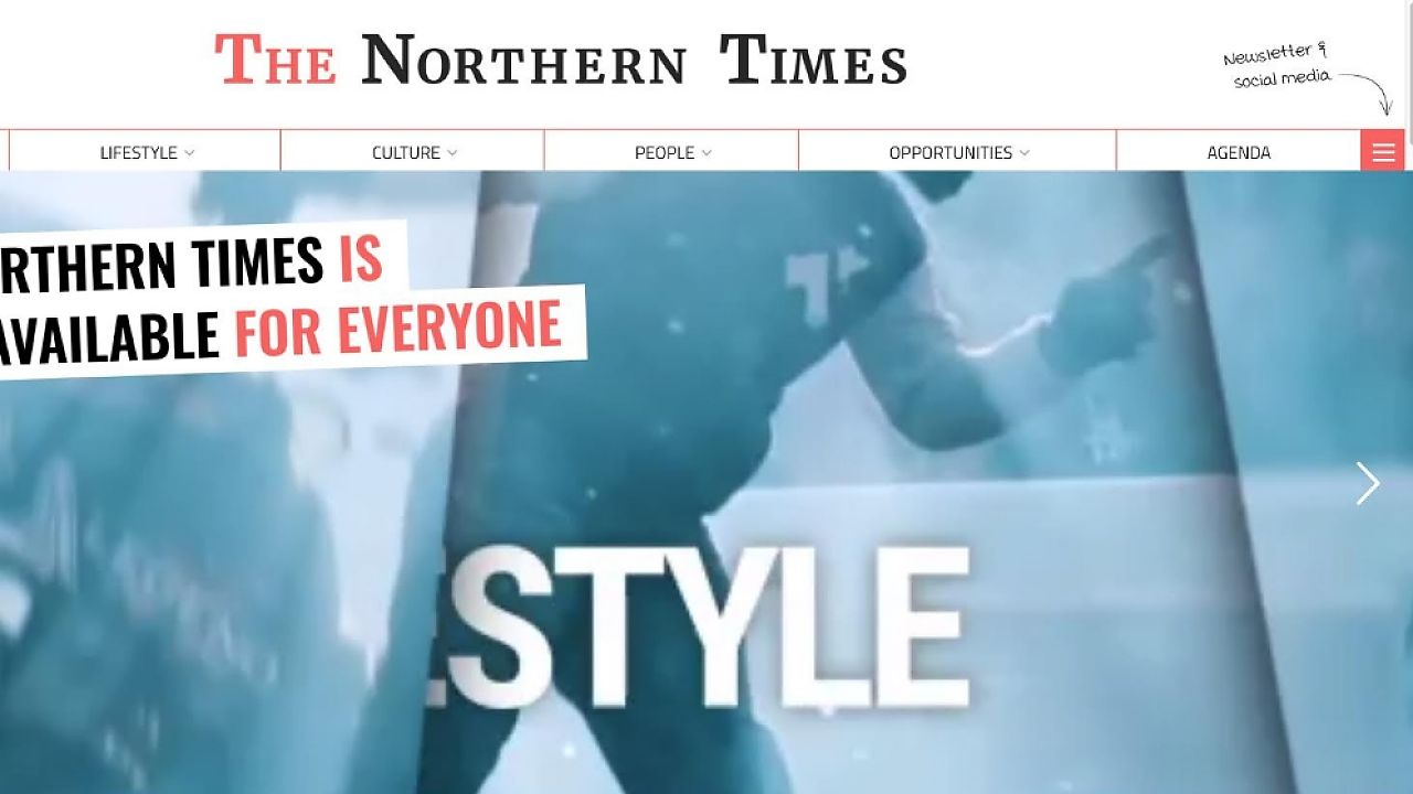 The Northern Times: a news site for internationals in the north