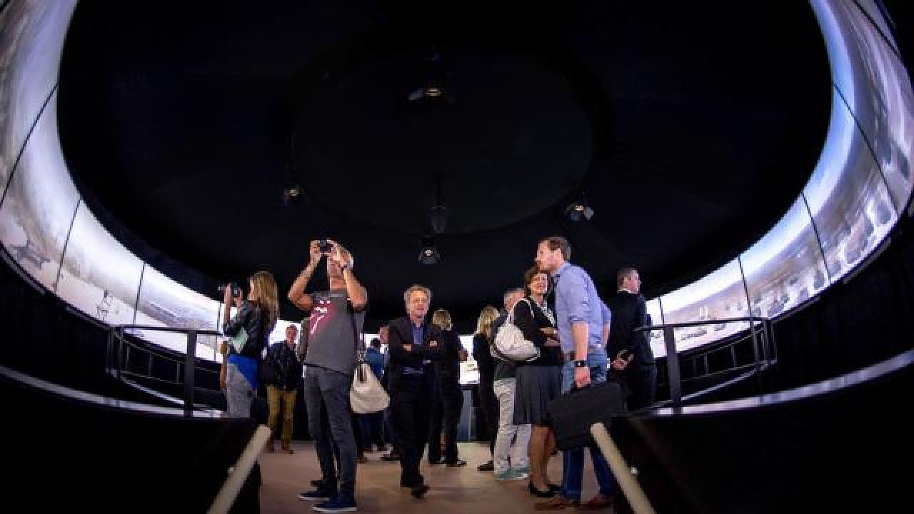 Organisatie verloot overnachting in dome-theater Moving Mesdag