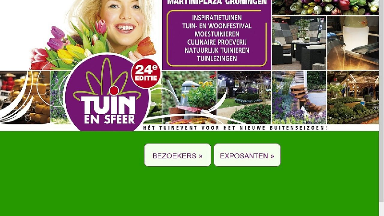 Tuinbeurs in martiniplaza groninger internet courant for Tuinbeurs 2016