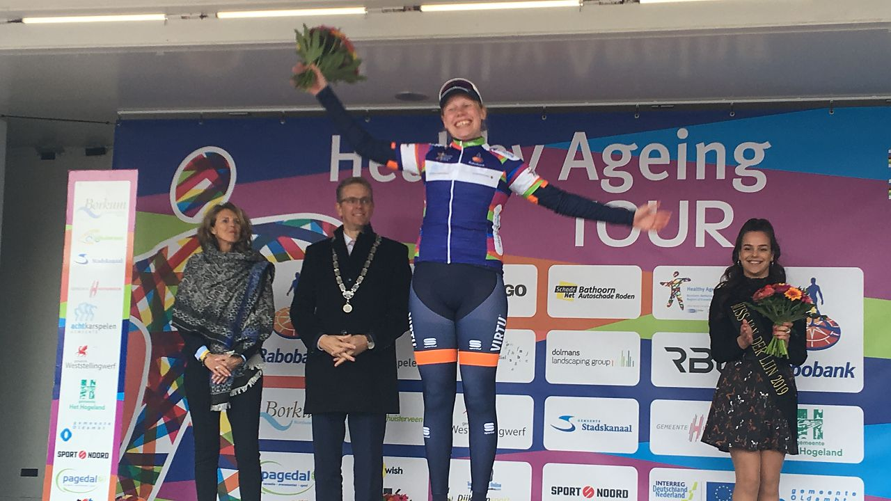 Lonneke Uneken nadert top tien in Healthy Ageing Tour