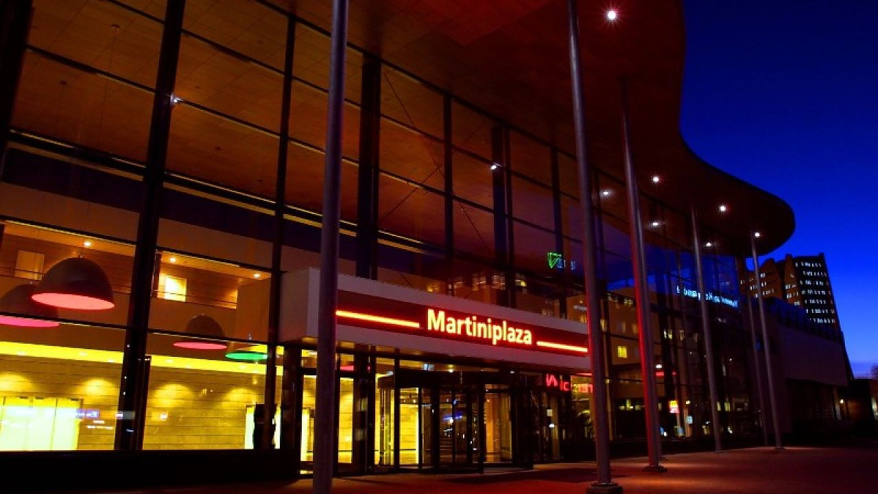 Grote platenbeurs in MartiniPlaza