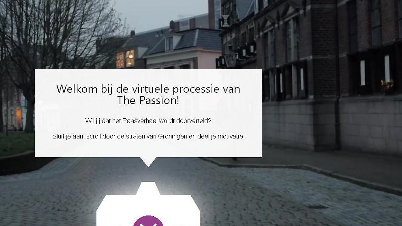 Loop virtueel mee met The Passion